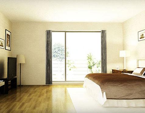 Bedroom, Godrej Frontier, Gurgaon