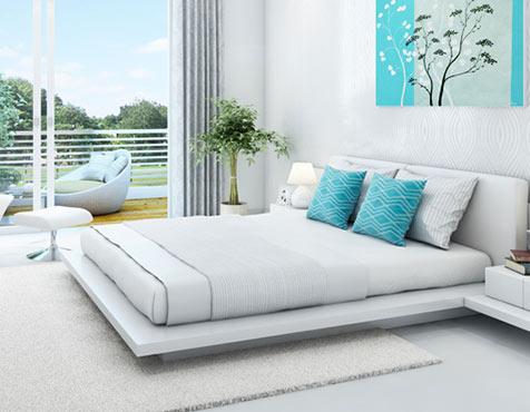 Master Bedroom View, Godrej Oasis, Gurgaon