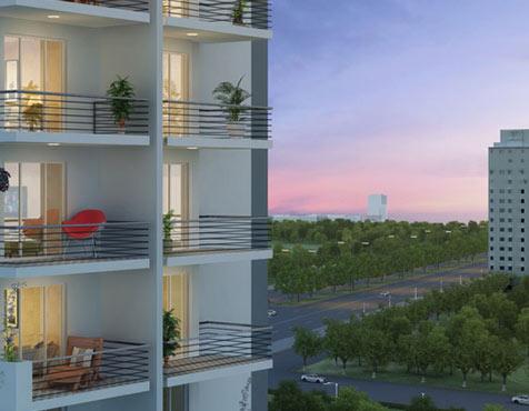 Balcony to Outer, Godrej Oasis, Gurgaon