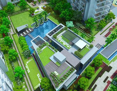 Landscape View, Godrej Oasis, Gurgaon