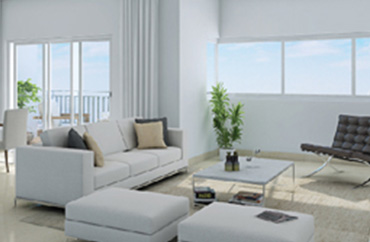 Delightful living space in Godrej Avenues, Bangalore