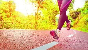 Jogging Track in Godrej E city, Bangalore