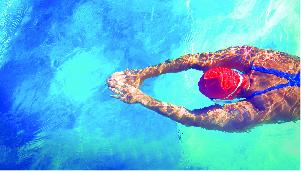 Swimming Pool in Godrej E city, Bangalore