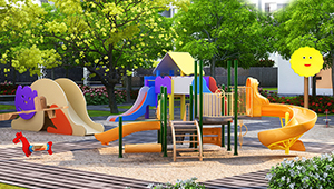 Kids play Area in Godrej Greens, Pune