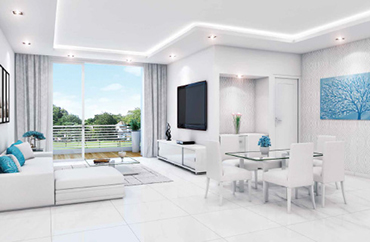 Luxurious Interior of Godrej Oasis, Gurgaon
