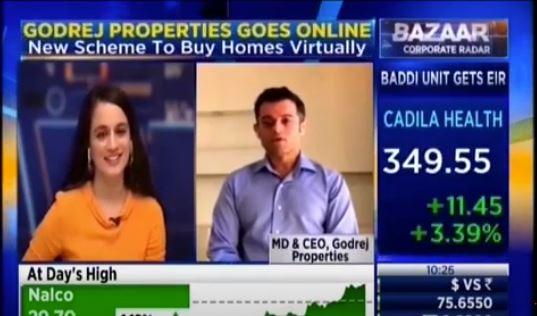 Mr Mohit Malhotra with CNBC TV18 Bazaar Corporate Radar