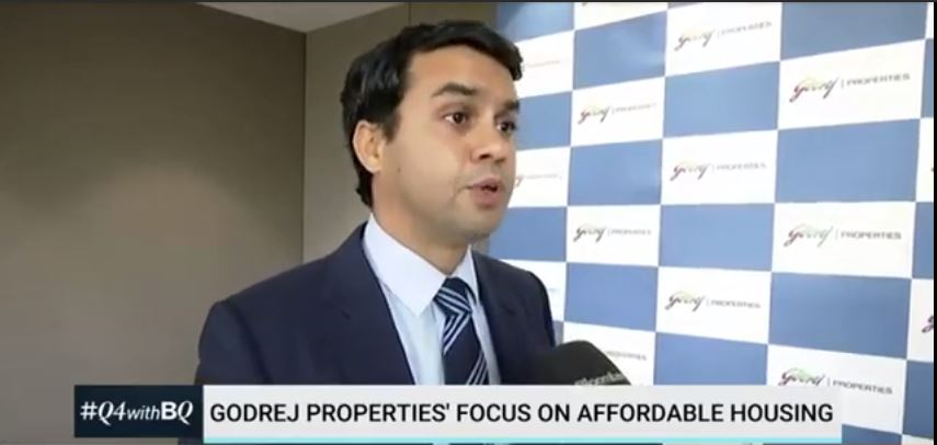 Bloomberg Quint with Mr Pirojsha Godrej Executive Chmn Godrej Properties Q4 Earnings