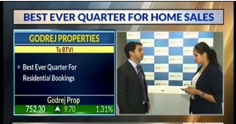 BTVI Corporate Eye with Mr Pirojsha Godrej Executive Chairman Godrej Properties