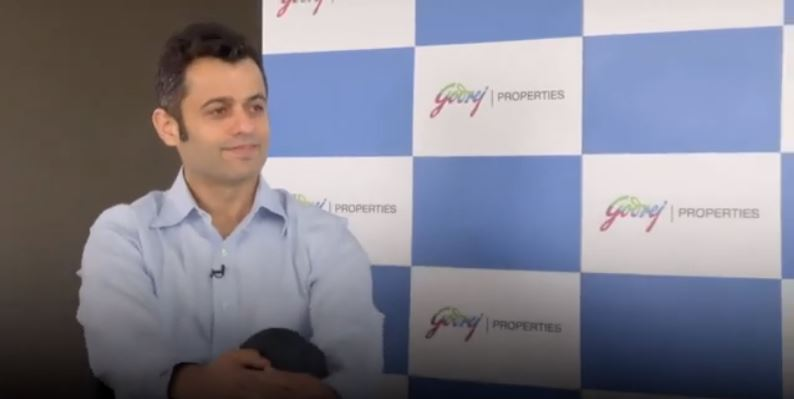 Bloomberg Quint Quint Live with Mr Mohit Malhotra  MD and CEO Godrej Properties